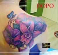 Copertura di un tatuaggio, copertura tattoo