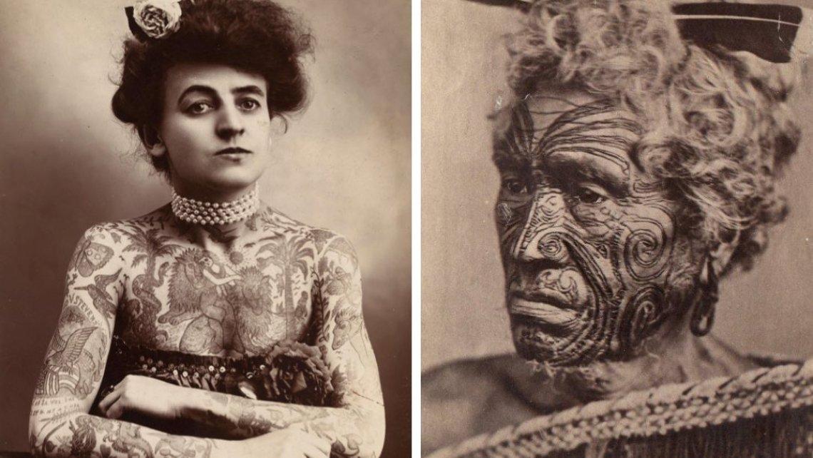 Le origini della realizzazione del tatuaggio