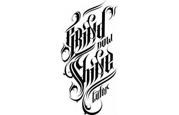 Tatuaggi Lettering - Tatuaggi con scritte