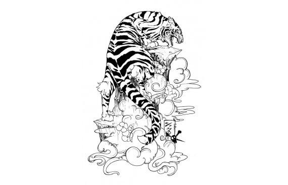 Oriental - Tatuaggi orientali e giapponesi