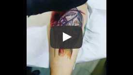 Full Color Woman Tattoo